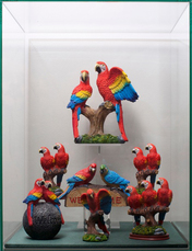 Composition Trouvée (Parrots) by Bijl Guillaume