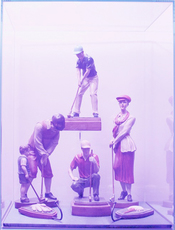 Composition Trouvée (Golf Players) by Bijl Guillaume