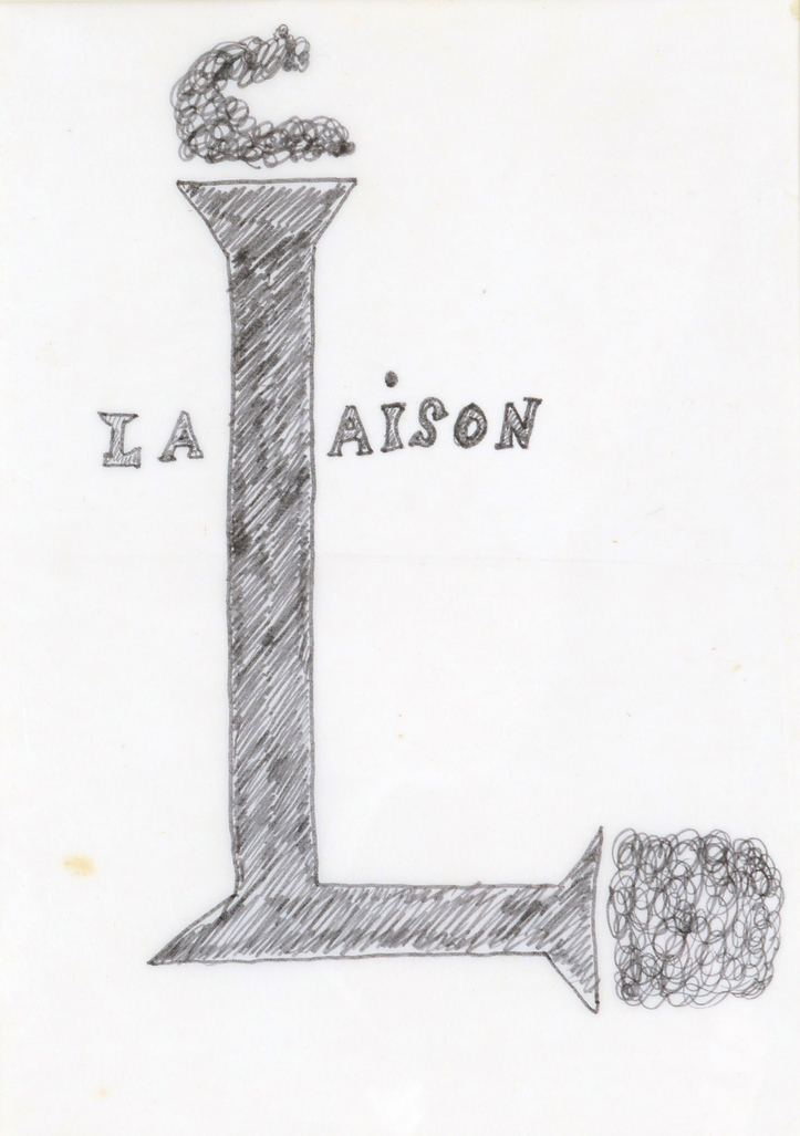 La Liaison by Broodthaers Marcel