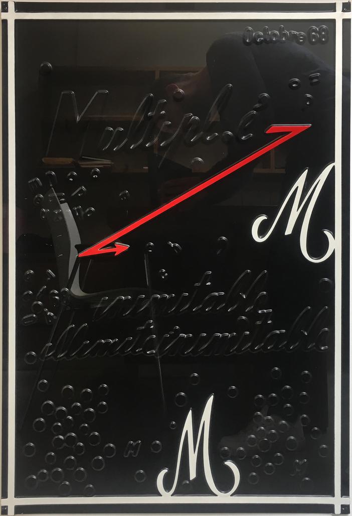 Multipl.é inimitable, illimitéinimitable M.M  by Broodthaers Marcel