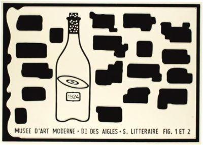 Musée d'Art Moderne, Dt des Aigles, S. Litteraire Fig. 1 ET 2  No 5 - 5/7 by Broodthaers Marcel