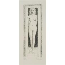 Naïs Dévêtue by Delvaux Paul