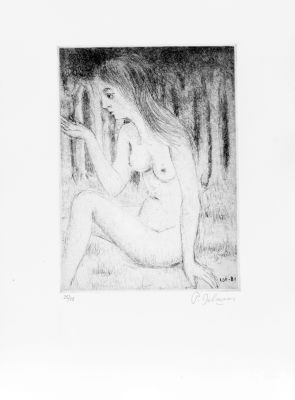 Le bois  by Delvaux Paul