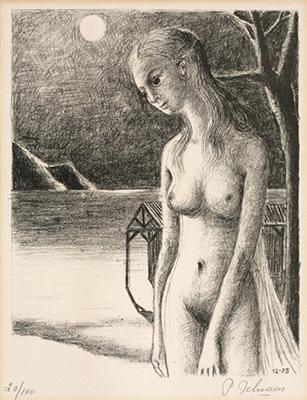 La Nuit by Delvaux Paul