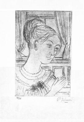 Francoise (Rives) by Delvaux Paul