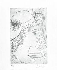 Julie (Rives)  by Delvaux Paul