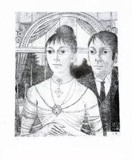 Portrait d'ancêtres  by Delvaux Paul