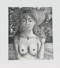Flore  by Delvaux Paul