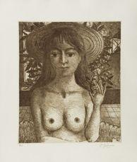 Flore - Sepia by Delvaux Paul