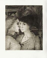 Les Palmiers by Delvaux Paul