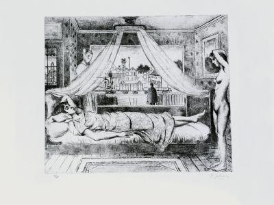 La chambre  by Delvaux Paul