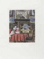 Les derniers beaux jours ( page titre )  by Delvaux Paul