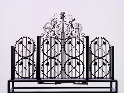 Gate Scale Model # 8 by Delvoye Wim