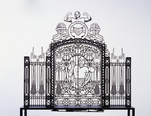 Gate Scale Model # 2 by Delvoye Wim