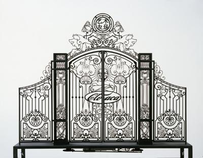 Gate Scale Model # 3 by Delvoye Wim