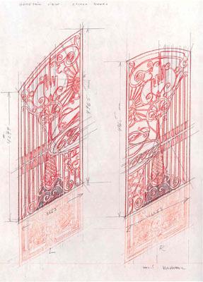 Studies for Cloaca Gates Study # 248 by Delvoye Wim