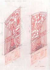 Studies for Cloaca Gates Study # 248 by Delvoye Wim