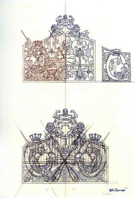 Studies for Cloaca Gates Study # 263 by Delvoye Wim