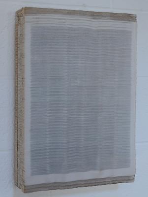 Horizontaal versneden kranten, 2006 BC1.5.06 by Denmark