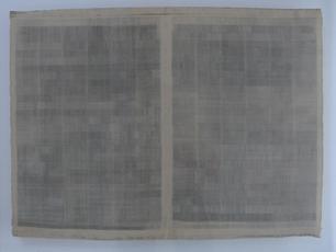 Horizontaal versneden open krant, 1993 B.2.93 by Denmark