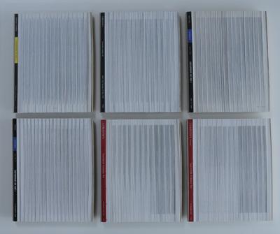 Dead Letters 6 Verticaal versneden veilingcatalogi Sotheby's & Christie's V.A. 5.12.2000 I/VI - VI/VI  by Denmark