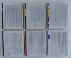 Verticaal versneden veilingcatalogi Sotheby's & Christie's, 2000     V.A.18.12.2000     I/VI - VI/VI by Denmark