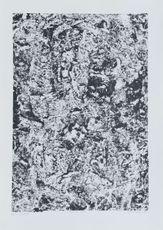 Texte de roche by Dubuffet Jean