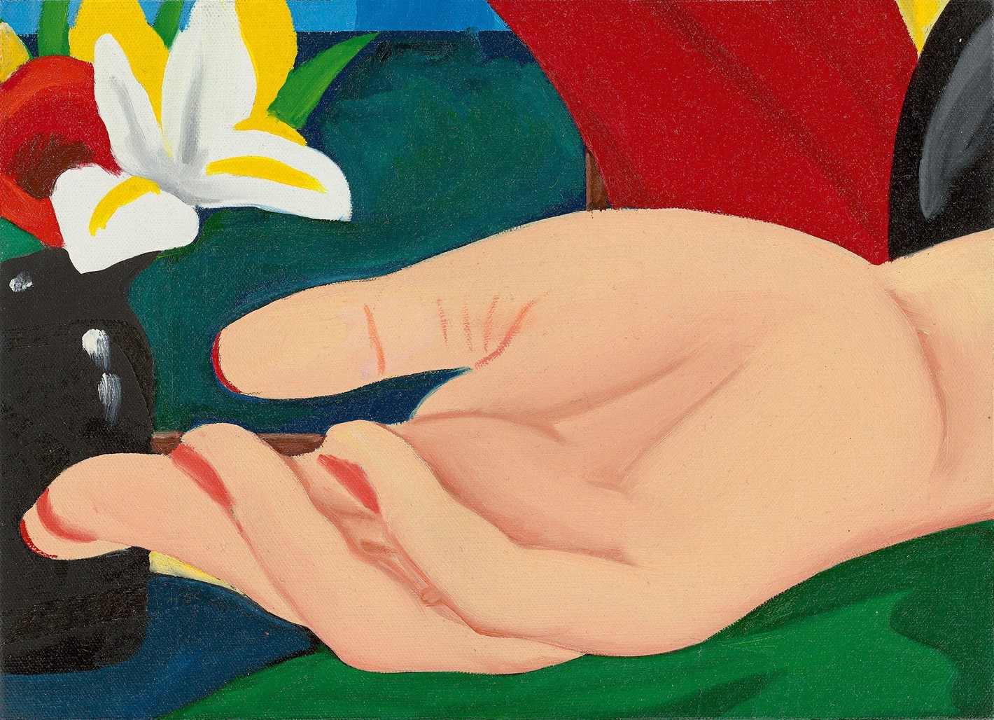 Study for Gina's Hand by Wesselmann Tom