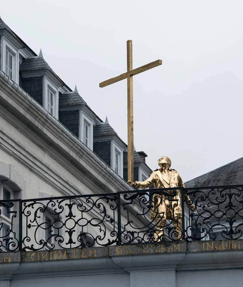 The man who bears the cross by Fabre Jan