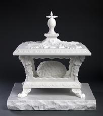 Het heilig brein in het tabernakel by Fabre Jan