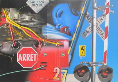 Blue dream / Inhalation hazard by Klasen Peter