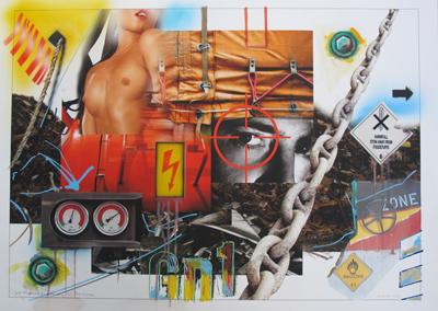 Lost Landscape N° 35 / Oxider by Klasen Peter