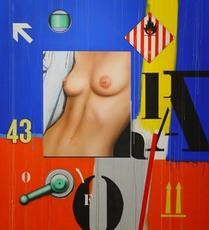 Fragment Nu/0/43/03 by Klasen Peter