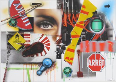 Lost Landscape n° 40 / Regard / Arret / G by Klasen Peter