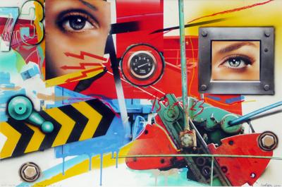 Lost Landscape n° 77 /  Face à Face / G by Klasen Peter