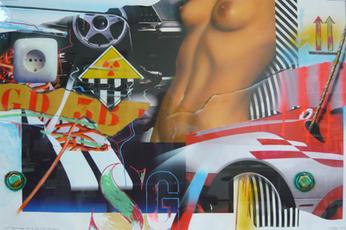 Lost Landscape n° 46 / Big Nude / Radioactive by Klasen Peter