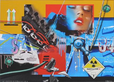 Lost Landscape N°43 / Radioactive III/ 84 G by Klasen Peter