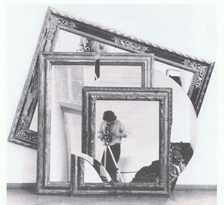 The Form of the Mirror by Pistoletto Michelangelo