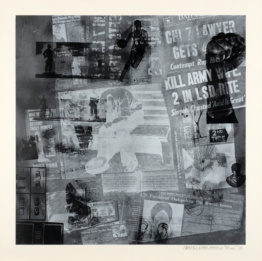 SurfaceSeries by Rauschenberg Robert