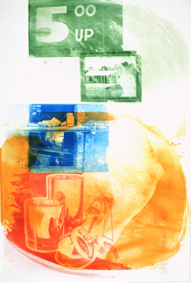 Ground Rules - Collateral by Rauschenberg Robert