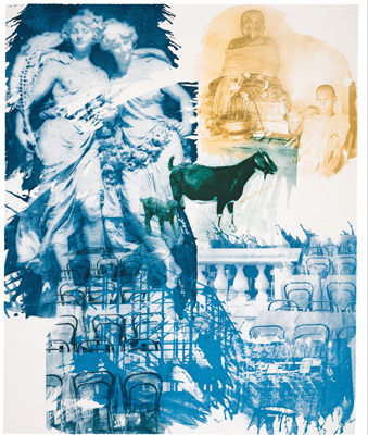 Ground Rules- Intermission by Rauschenberg Robert