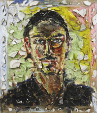 Untitled (Portrait of Loren Kramar) by Schnabel Julian