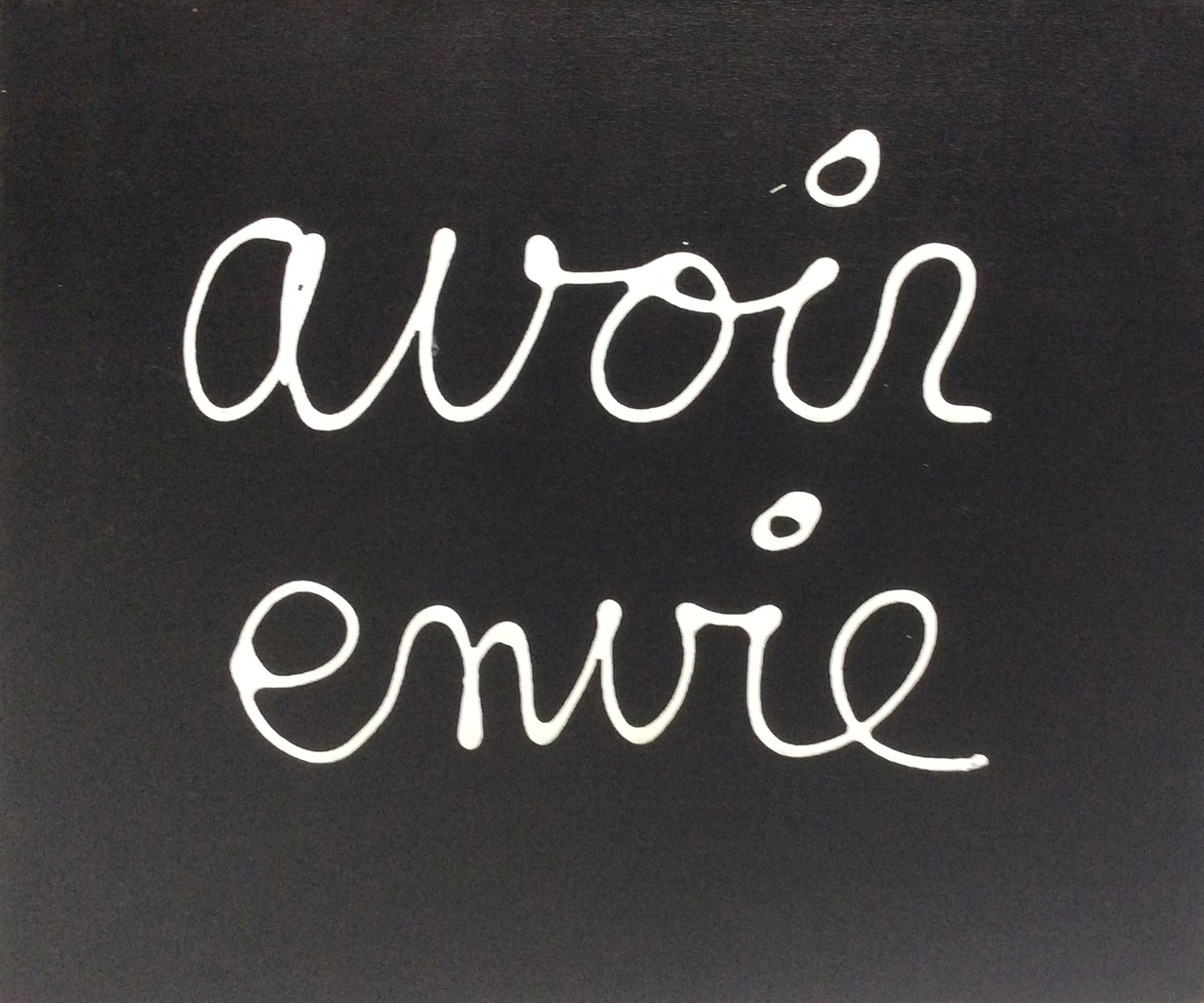 Avoir Envie by Vautier Ben