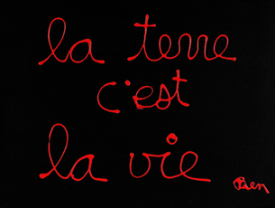 La terre c'est la vie by Vautier Ben