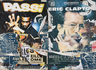 Passi & Clapton - Canebière, Marseille 22 octobre 1998 by VilleglÉ Jacques