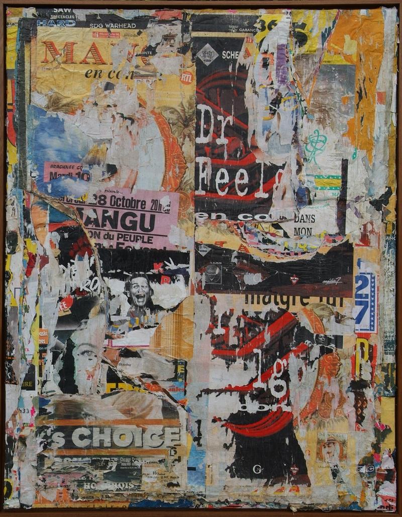 Docteur Feel good - Clermont-Ferrand by Villeglé Jacques