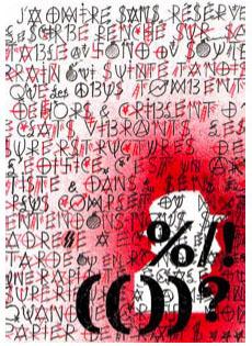 Le Scribe by Villegle Jacques