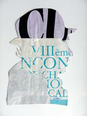 Autoportrait by Villeglé Jacques