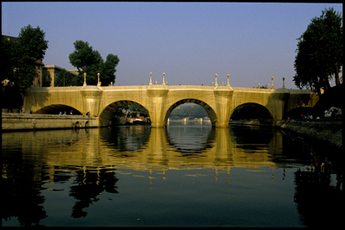 Christo and Jeanne-Claude The Pont Neuf Wrapped, Paris, 1985 by Volz Wolfgang