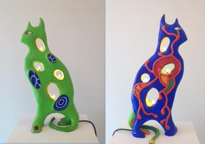 Lampe Chat by De Saint Phalle Niki